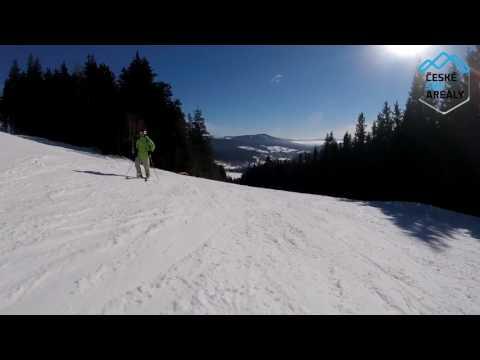 Ski Špičák modrá 1
