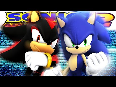 ECCENTRIC HEDGEHOG VS EDGY TEEN (Debut of Hilarity) | Sonic Adventure 2 Gameplay (видео)
