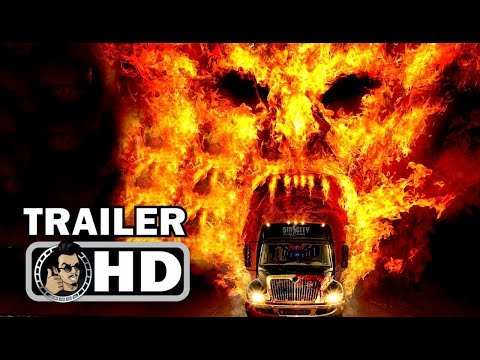 PARTY BUS TO HELL Official Trailer (2018) Tara Reid Horror Comedy Movie HD
