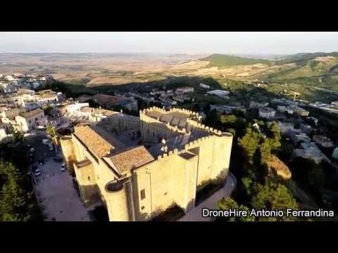 Riprese aeree di Miglionico con un drone