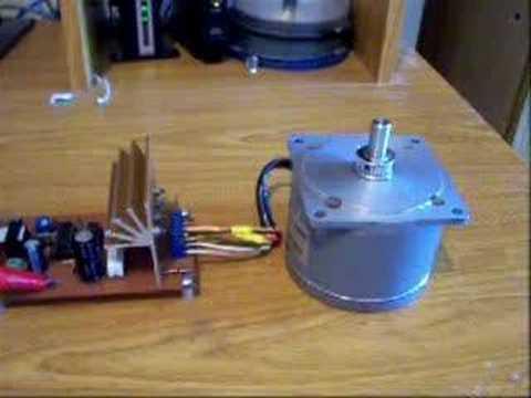 Motor paso a paso a 3000 RPM