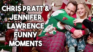 Chris Pratt and Jennifer Lawrence Funny Moments full download video download mp3 download music download