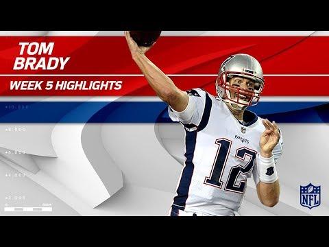 Video: Tom Brady Tosses 303 Yards & 1 TD vs. Tampa Bay | Patriots vs. Buccaneers | Wk 5 Player Highlights
