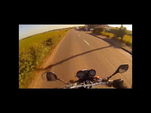 Short clip of way home - Yamaha Ybr125