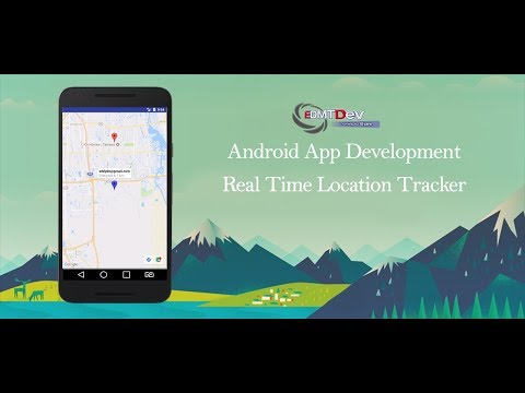 Android Studio Tutorial - Real Time Location Tracking Part 2 (Tracking)