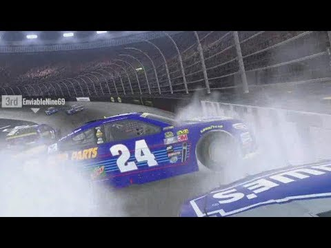 ONLINE RACING CHAOS! | NASCAR Heat Evolution Multiplayer Gameplay