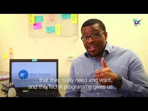 TechX Pioneers: Blue Gentoo