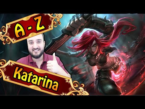 A-Z KATARINA , Mains Rasieren Mit Ihr Zu 58% | League Of Legends