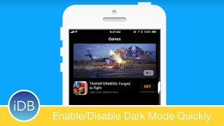 Take a look at what Smart Invert can do, whats its for, how it functions as a dark mode, and how to quickly enable and disable it when you please. ~~Visit us at iDownloadBlog.com for more Apple news and videos!Download the free iDB app for the latest news! https://goo.gl/bY6OvS~~#Social:http://www.twitter.com/iDownloadBloghttp://www.facebook.com/iDownloadBloghttp://www.twitter.com/Andrew_OSU