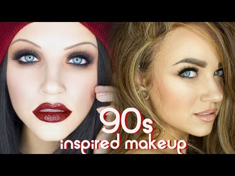 make up - tutorial glam and grunge