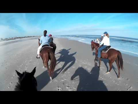 Horseback Riding On The Beach - Amelia Island, Fernandina Beach, Florida