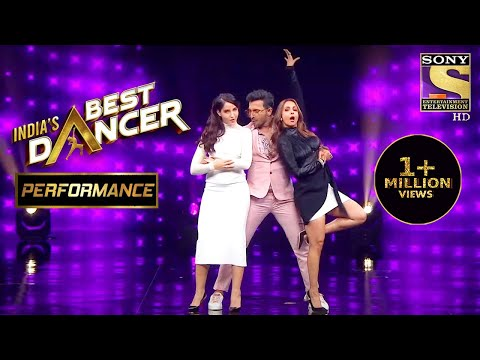 Nora, Terrence और Malaika का एक साथ Performance | India's Best Dancer