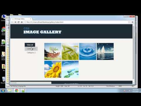 Learn to make a functional CSS3 image gallery - Part 5