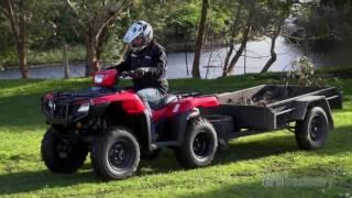 6. Review Honda TRX500FM2 ATV