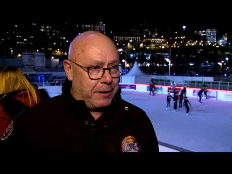 Ice rink opens