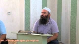 Nëse njeriu vdes duke agjëru, çfar sevape ka - Hoxhë Bekir Halimi