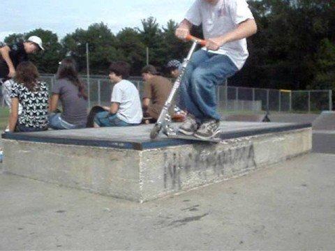 Simsbury Skatepark Montage 2007-2008