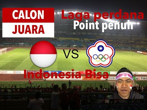 Timnas Indonesia meraih 3 point | Indonesia Bisa | Asian Games 2018