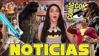 Video Comic-Con, Shazam!, Aquaman, James Gunn despedido de Marvel y más MP3, 3GP, MP4, WEBM, AVI, FLV Juli 2018