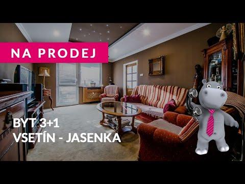 Video Prodej, Byt 3+1, 70m2 - Vsetín Jasenka