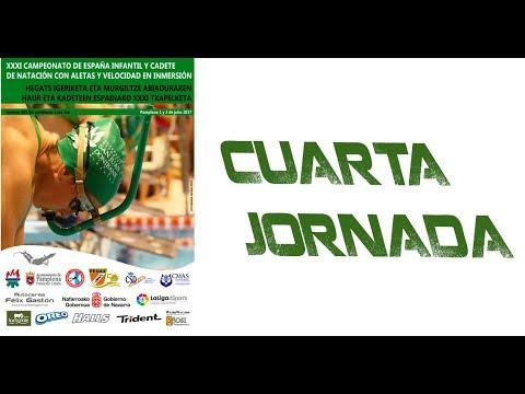 4. Jornada Cto. España Infantil y Cadete de Natación con Aletas y Velocidad en Inmersión