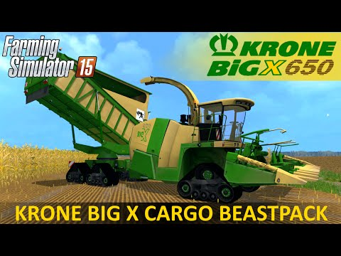 Krone Big X 650 Cargo Beastpack