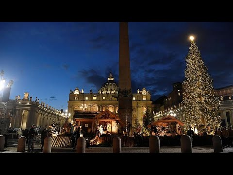 Το Βατικανό στόλισε το χριστουγεννιάτικο δέντρο του!