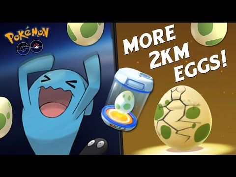 HATCHING EVEN MORE 2KM EGGS! (POKEMON GO EASTER EVENT)