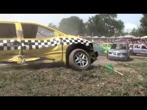 Comber Fair Demolition Derby 2015 | Vans