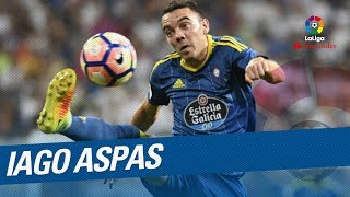 Iago Aspas TOP 5 Goals LaLiga Santander 2016/2017:5.- UD Las Palmas vs RC Celta, 10th Round4.- Sporting de Gijon vs RC Celta, 24th Round3.- RC Celta vs Osasuna, 23th Round2.- RC Celta vs Malaga CF, 17th Round1.- RC Celta vs RCD Espanyol, 25th RoundSubscribe to the Official Channel of LaLiga in High Definition http://goo.gl/Cp0tCLaLiga Santander on YouTube: http://goo.gl/Cp0tCLaCopa on YouTube: http://bit.ly/1P4ZriPLaLiga 123 on YouTube: http://bit.ly/1OvSXbiFacebook: https://www.facebook.com/lfpoficialTwitter: https://twitter.com/LaLigaInstagram: https://instagram.com/laligaGoogle+: http://goo.gl/46Py9