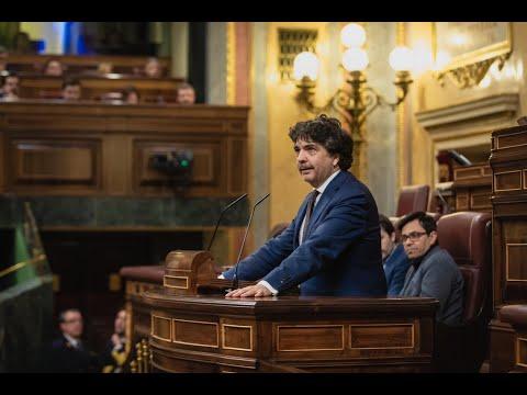 Intervención de Mario Garcés en el Congreso de los...