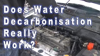 Does Water Decarbonation Really Work??  See the Results