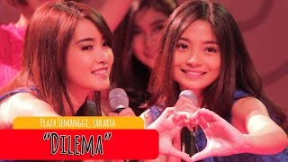 Video Cherrybelle - Dilema [LIVE] at Plaza Semanggi MP3, 3GP, MP4, WEBM, AVI, FLV Juli 2018