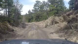 Sugarloaf Mountain Jeep Trail - Boulder, Colorado