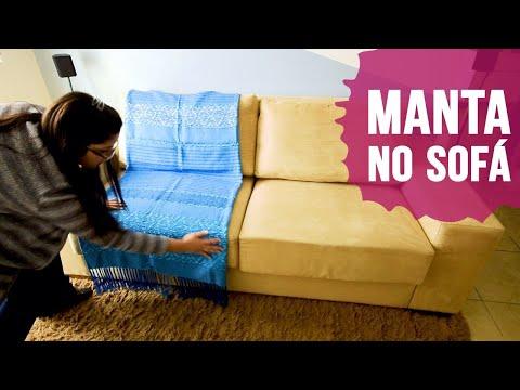 Como usar manta no sofá - SIMPLICHIQUE