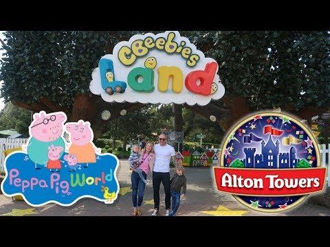 Cbeebies Land, Alton Towers, New Peppa Pig World Rides and Splash Landings Family Vlog  May 2018
