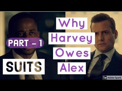 Suits Season 7 Episode 7 Why Harvey Specter Owes Alex Part 1  Best Tv Moments