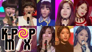 [K-pop Mix A to Z] D : Davichi & Dal Shabet - 다비치 & 달샤벳, clip giai tri, giai tri tong hop