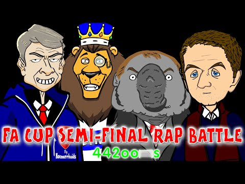 ☕️FA CUP RAP BATTLE - Semi Finals☕️(Aston Villa Vs Liverpool 2-1 Reading Vs Arsenal 1-2 14/15)