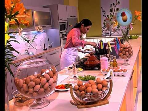 OEUF MAROCAIN & CHOUMICHA - Tajine de poivrons aux
