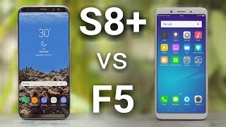 Video Oppo F5 vs Galaxy S8+ | Quick Comparison! MP3, 3GP, MP4, WEBM, AVI, FLV Februari 2018