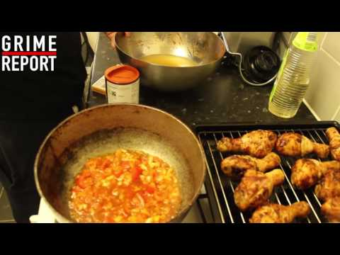WHIPPIN IN DA KITCHEN (COOKING SHOW)  STEWED CHICKEN & DUMPLINGS @TheGrimeReport @RD_MusicUpdates