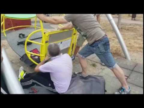 IMPERIA: RIPARATA L'ALTALENA DEI DISABILI AL PARCO URBANO