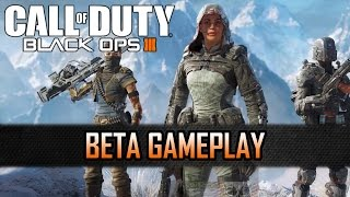 ► Call of Duty: Black Ops 3► Watch in 1080p► Playlist: http://bit.ly/1piU7HSWatch a gameplay video of the beta of the new CoD BO3 game. Have fun!Schaut Euch das Gameplay Video von der Beta von dem neuen CoD BO3 Spiel an. Viel Spaß!Buy Call of Duty: Black Ops 3 on Amazon:http://www.amazon.de/gp/product/B00VWXX4KW/ref=as_li_tl?ie=UTF8&camp=1638&creative=19454&creativeASIN=B00VWXX4KW&linkCode=as2&tag=moebotzz-21Recorded with Elgato Game Capture HD60_______________________________________Follow us on: Twitter: http://twitter.com/moebotzzFacebook: http://www.facebook.com/moebotzzGoogle+: http://bit.ly/1sAoeyx_______________________________________Call of Duty: Black Ops 3 is a dark, gritty future where a new breed of Black Ops soldier emerges and the lines are blurred between our own humanity and the cutting-edge military robotics that define the future of combat. See you on November 6, the new Black Friday.Pre-order now and get access to the Multiplayer Beta. Learn more at:http://www.callofduty.com/beta_ _ _ _ _ _ _ _ _ _ _ _ _ _ _ _ _ _ _ _Call of Duty: Black Ops 3 spielt in einer düsteren Zukunft, in der eine neue Generation von Black Ops Soldaten entsteht und die Grenzen zwischen unserer eigenen Menschlichkeit und innovativer Militärrobotik verwischen.Wir sehen uns am 6. November, dem neuen Black Friday.Jetzt vorbestellen und Zugang zur Multiplayer-Beta sichern. Mehr erfahren unter: http://www.callofduty.com/beta
