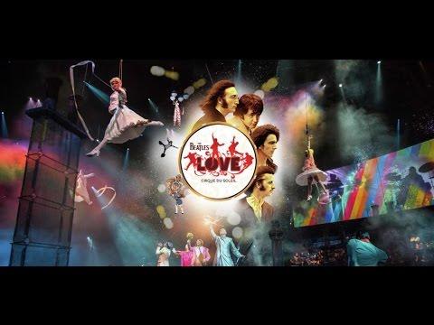 The Beatles LOVE Review Mirage Cirque Du Soleil
