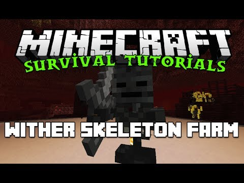 How to: Wither Skeleton Farm – Survival Friendly Minecraft Tutorials