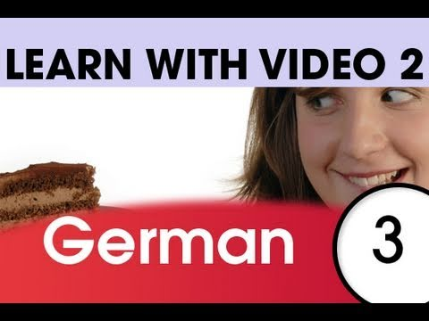 Learn German with Video – Top 20 German Verbs 1