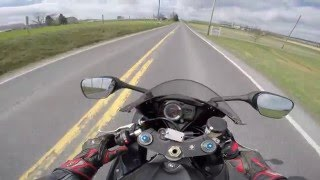 7. 2008 Suzuki GSXR 750 Riding Review
