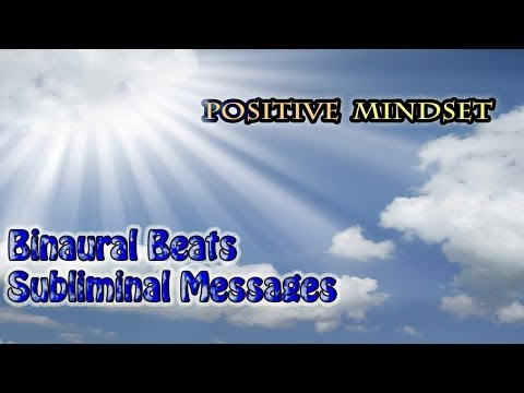 Positive Thinking - Binaural + Deep Hypnosis Subliminal (Positive Energy) - Relaxation Meditation