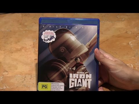 The Iron Giant Signature Edition Blu Ray